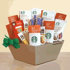 Starbucks New Mom & Dad Gift Basket