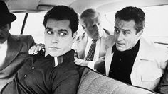 Image discovered by annalee in paradise. Find images and videos about robert de niro, goodfellas and ray liotta on We Heart It - the app to get lost in what you love. Al Pacino, Martin Scorsese, Movie Theater, I Movie, Theatre, Goodfellas 1990, Ray Liotta Goodfellas, Goodfellas Quotes, Gangster Movies