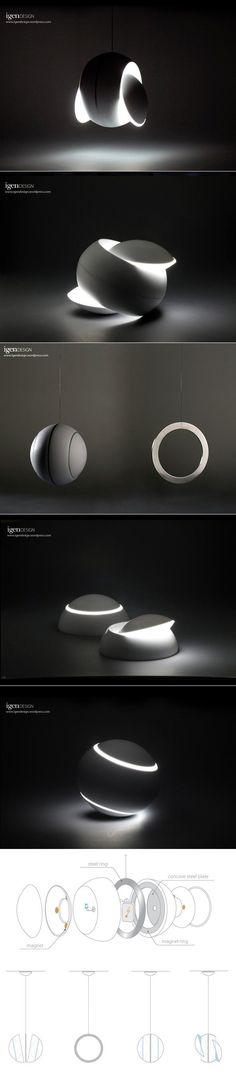 DESIGN >>> Lampe Nissyoku par igendesign - Journal du Design