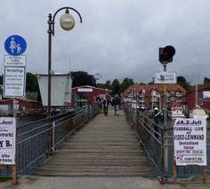 Fußgängerbrücke in Eckernförde, Foto: S. Hopp