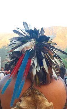 Kayapó headdress