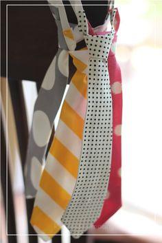 How to make a tie via Craft Snob 1