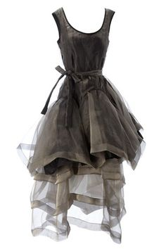 Vivienne Westwood #dress..like it came out of dark but wonderful fairytale #fashionhippo