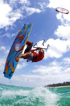 kite surfing, sports photography, high speed photography