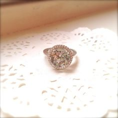 mint quartz and cubic zirconia in sterling silver ring Sterling Silver Jewelry, Heart Ring, Handmade Jewelry, Quartz, Mint, Heart Rings, Diy Jewelry, Handmade Jewellery, Craft Jewelry