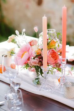 This destination wedding at Borgo Casabianca is bursting in color! T+M are from Switzerland but wanted an intimate small wedding in Tuscany, and what a gorgeous day they had. See it all on Ruffled! Wedding Reception Decorations, Wedding Centerpieces, Wedding Ceremonies, Centrepieces, Italy Wedding, Paris Wedding, Hotel Wedding, Modern Wedding Inspiration, Tuscan Wedding