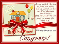 36 Best New Home Cards And Sayings Images New Home Cards New