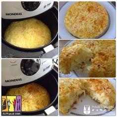 Hoje a receitinha é da AirFryend Luciana Simas Ribeiro , uma deliciosa batata rostie feita diretamente na cesta da AirFryer e que parece não...