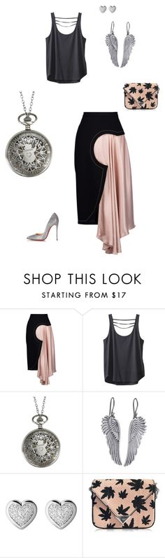 """""""Stop Watch"""" by charmynge on Polyvore featuring Roksanda, Kavu, Disney, Lucky Brand, Links of London, Alexander Wang and Christian Louboutin"""