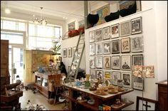 Great vintage shop in Ghent: Het Archief