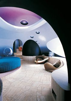 French Palace Interior Design | Interior design of a room at the palais bulles, palace of bubbles ...