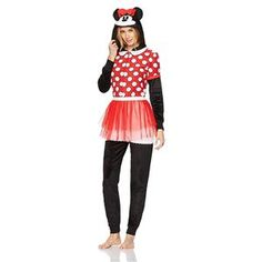 Briefly Stated Womens Minnie Mouse Disney Hooded Costume Pajamas Red Size Medium 714147367925 Easy Costumes, Super Hero Costumes, Career Costumes, Bride Of Frankenstein Costume, Bride Costume, Trendy Halloween, Lounge Wear, Minnie Mouse, Onesies