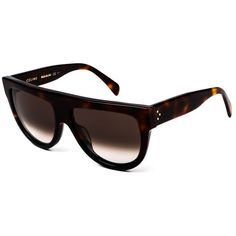 589862bd47fd Buy Celine CL Shadow sunglasses in Tortoise online today from  SmartBuyGlasses.