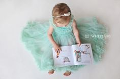 Toddler Girl Photography | Peanut Gallery - White Lyre