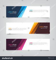 Vector Abstract Banner Design Web Template Stock Vector (Royalty Free) 1617115459
