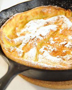 David Eyre's Pancake - a fluffy pancake, serve with jam/marmelade