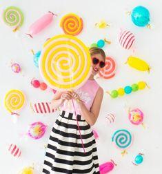 ❤ DIY Balloon candy - fun birthday party backdrop ( birthday decor) ❤Mindy - craft idea & DIY tutorial collection