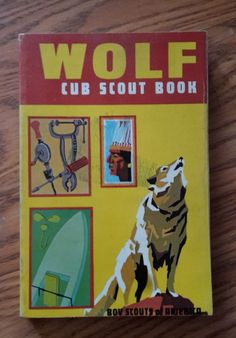WOLF Cub Scout Book, 1970 printing Vintage Boy Scouts of America