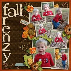Layout by Trista from the Scrap Matters Design Team.