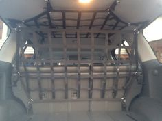 2014 Pro-X Xterra with raingler barrier and ceiling netting.