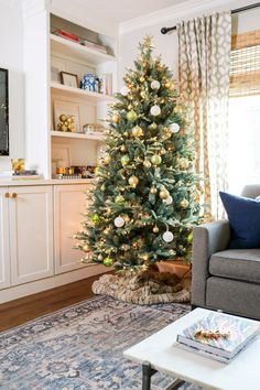 Start the holiday decorating! Order your pre-lit trees from Martha's Brand Shop on @amazon. @TheKatrinaBlair decked the halls with Martha's blue spruce tree. Find your favorite on @amazon.