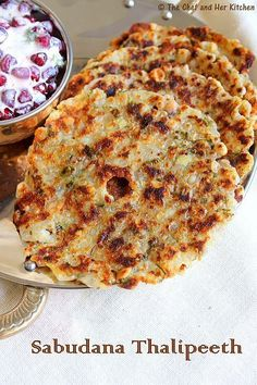 THE CHEF and HER KITCHEN: Sabudana Thalipeeth | Navratri Vrat Recipes