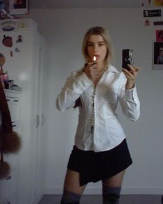 Basic Outfits, Cute Outfits, Estilo Ivy, Private School Girl, Lolita, Cool Girl, Sad Girl, Preppy, Style Me