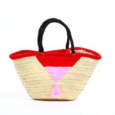 Fab.com | La Jolla Triangle Basket Pink