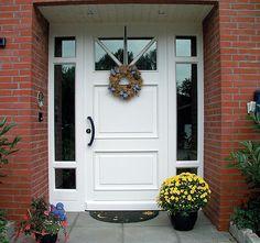 Haustüren Brunkhorst, Haustüren aus Holz, Holzhaustüren, Passivhaustüren - Haustüren aus Holz