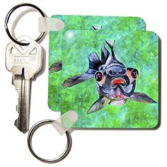 kc_18241_1 Taiche Acrylic Art - Fish BlackMoor Goldfish - Key Chains - set of 2 Key Chains 3dRose http://www.amazon.com/dp/B0050MF56C/ref=cm_sw_r_pi_dp_BCEgwb038ZMD7