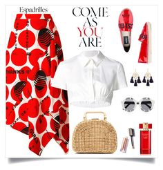"""Come as you are"" by tato-eleni ❤ liked on Polyvore featuring STELLA McCARTNEY, Monse, Kayu, Marte Frisnes, Estée Lauder, House of Holland and Kenzo"