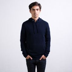 The Cashmere Hoodie Navy – Everlane