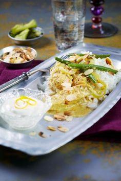 Intialainen broileri mantelikastikkeessa | K-Ruoka #aasia
