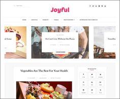 JoyFul Fashion Responsive Free Blogger Template