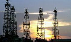 Oil rig west of Caracas