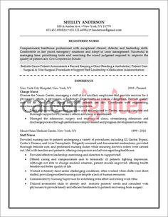 nurse resume sample for later - Professional Nursing Resumes