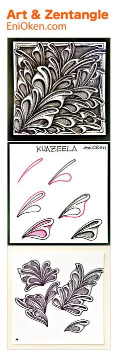 Kwazeela is a Leaf-type tangle. • enioken.com