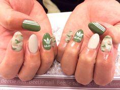 Nail Art - Beetle Nail : arte|adidas