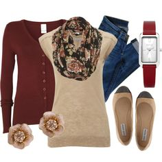 """""""Dusty Rose"""" by qtpiekelso on Polyvore"""