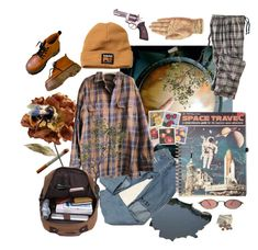 """""""Who is he?"""" by holmes-stephanie ❤ liked on Polyvore featuring Timberland PRO, Ødd., Pier 1 Imports, Woolrich, Timberland, Crate and Barrel and vintage"""