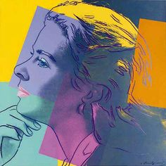 Herself, from Ingrid Bergman, 1983 - Andy Warhol