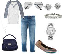 Boyfriend Jeans with Tieks