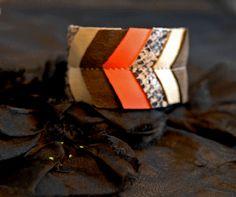 Scrap Leather Bracelet