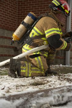 LION Janesville V-Force turnout gear (in action) | Shared by LION
