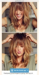 Luv her haircut and wish my hair was naturally this thick 😩 – Longueur Cheveux Latest Haircuts, Great Haircuts, Trending Haircuts, Great Hairstyles, Wedding Hairstyles For Long Hair, Hairstyles With Bangs, Hairstyle Ideas, Trendy Haircut, Stylish Haircuts