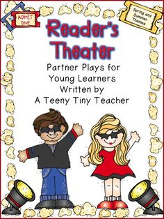 A Teeny Tiny Teacher: Reader's Theater - I'm a Drama Queen