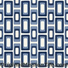 Cement Tiles Oceana Collection by Original Mission Tile Mediterranean Homes, Floor Patterns, Mosaic Designs, Mosaic Tiles, Mosaics, Handmade Shop, All The Colors, Flooring, Island