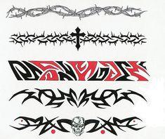 Amazing Five Armband Tattoo Design Celtic Band Tattoo, Celtic Tribal Tattoos, Black Band Tattoo, Tribal Band Tattoo, Forearm Band Tattoos, Tattoo Band, Rune Tattoo, Tribal Tattoos For Women, Bicep Tattoo