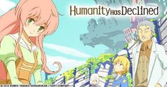 Humanity Has Declined Complete Collection Blu-ray Anime Review :: I suffered through 8 episodes. Ugh.