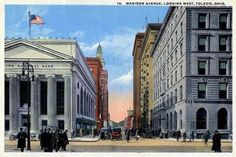 Madison Avenue, Toledo, Ohio.I worked in the building on the right for eight years.